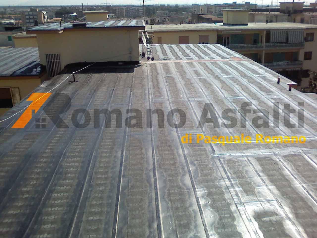 Guaina su un terrazzo condominiale - soluzioni per te | Romano Asfalti